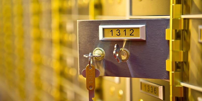 Safety Deposit Boxes Rochdale